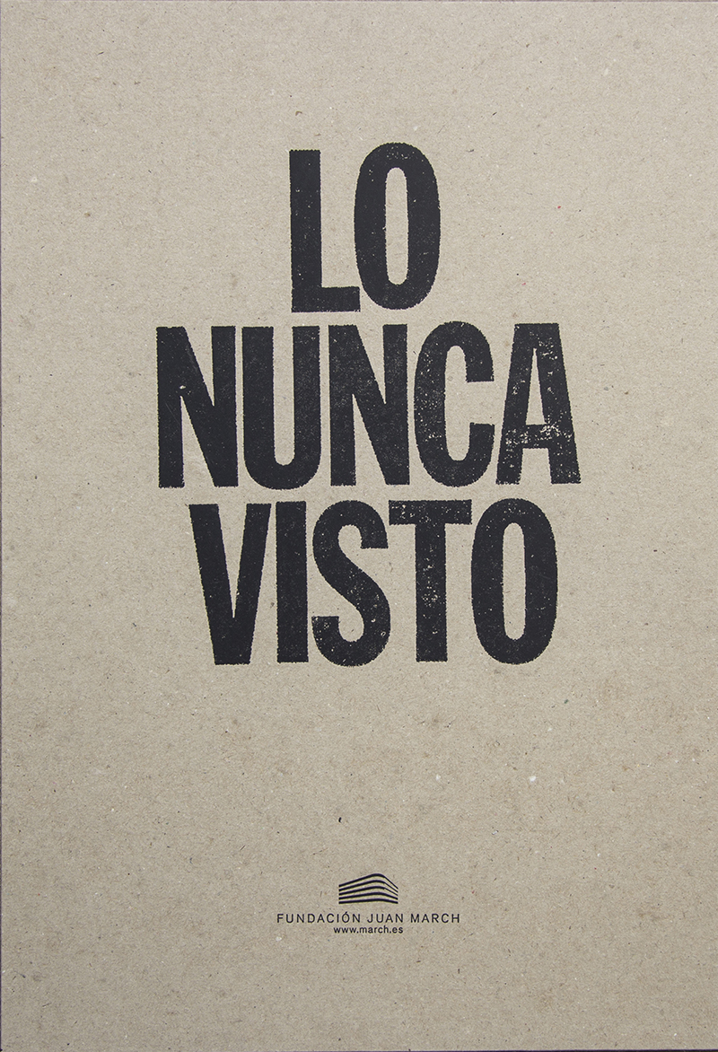 Lo Nunca Visto: de la pintura informalista al fotolibro de postguerra (1945-1965) [The Unseen: from Informalist Painting to the Postwar Photobook (1945-1965)]
