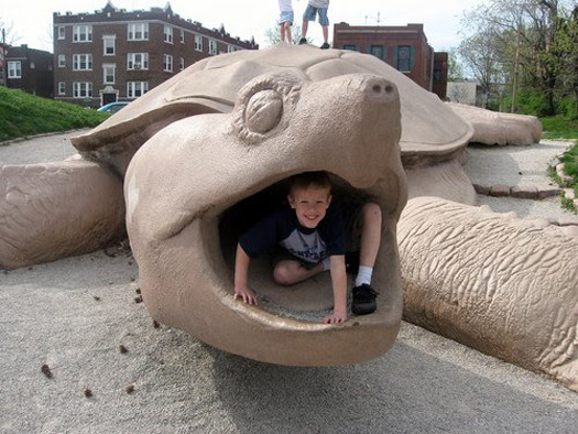 The Imagination of Playgrounds