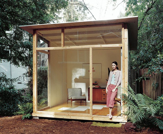 Accidental mysteries tiny houses design observer for Outside office shed