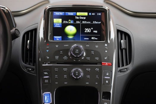 Chevrolet Volt Dashboard Interior View X on Ford Escape Hybrid Battery