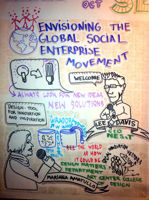 "keynote panel ""Envisioning the Global Social Enterprise Movement,"""