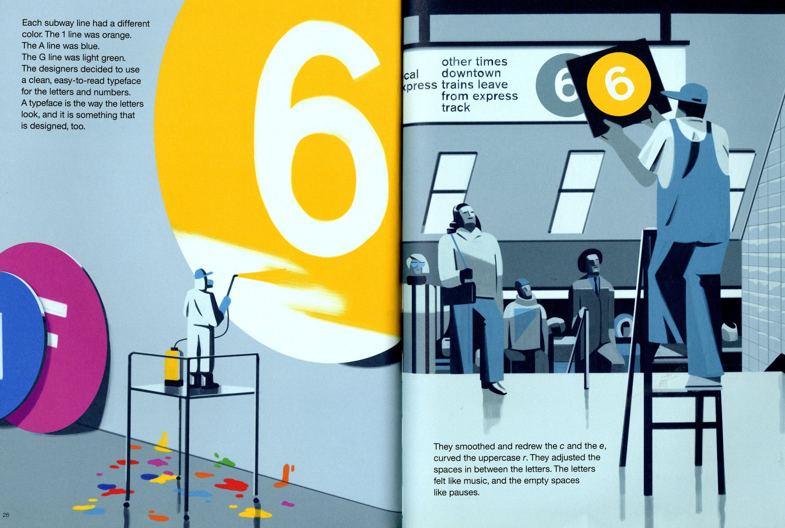 Nyc Subway Map Author Emiliano Ponzi.Vignelli S Subway Map For Little Ones Design Observer