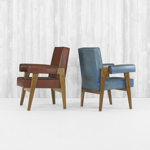 Le Corbusier And Pierre Jeanneret, Armchairs From The Salle De Tribunal,  High Court, Chandigarh, C. 1955. For Sale At March 31 Modern Design Auction  At ...