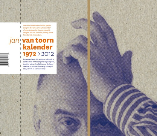 A Classic Calendar By Jan Van Toorn Has Been Reprinted Design Observer