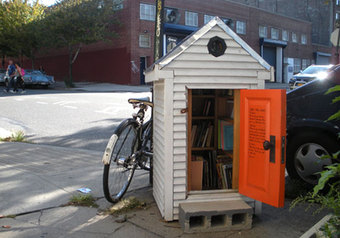 Marginalia: Little Libraries in the Urban Margins