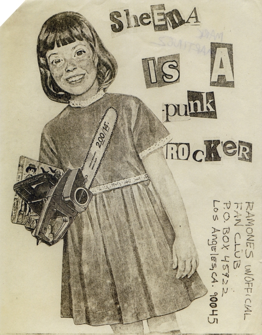 Image result for cut out lettering punk style