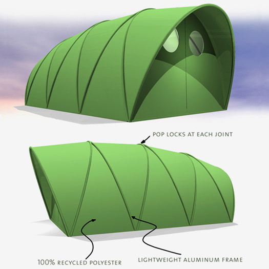 how to build an emergency shelter