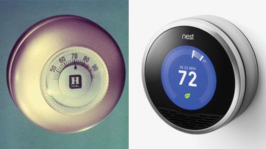 reinventing the thermostat design observer. Black Bedroom Furniture Sets. Home Design Ideas