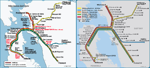 A Makeover for the BART Map Design Observer