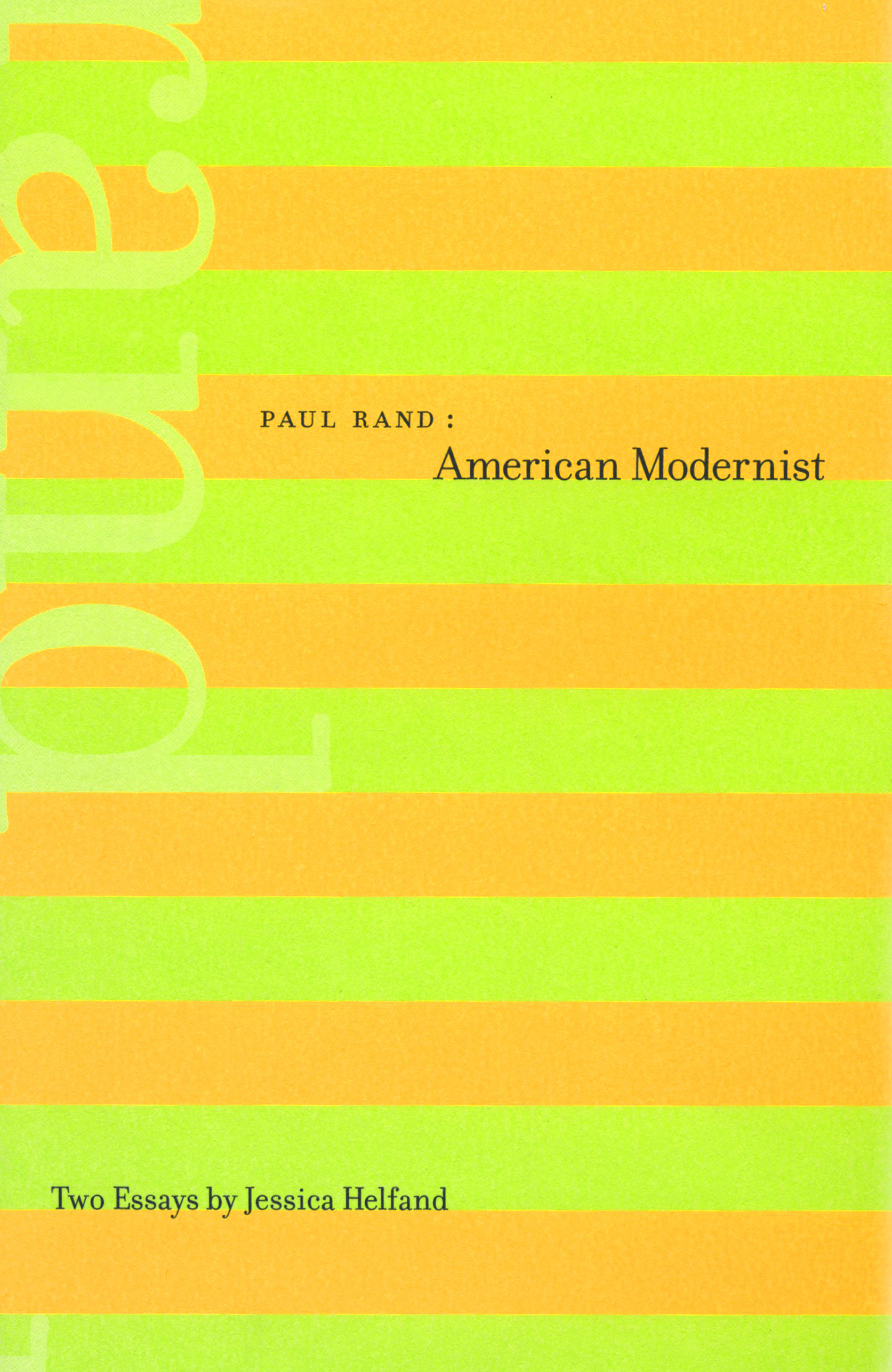 Paul Rand: American Modernist
