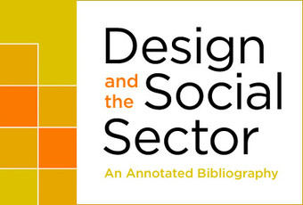 Design and the Social Sector: An Annotated Bibliography