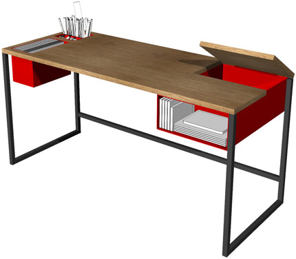 Desk Dwell On Design And Within Reach