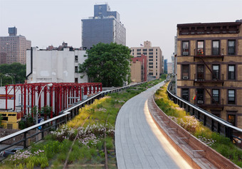 Above Grade: On the High Line