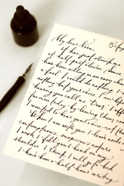 write a handwritten letter online