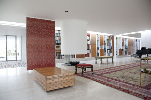 Miller House Opens Designed By Saarinen Roche And Girard Design