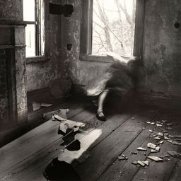 Exposure: House #3, photographed by Francesca Woodman.