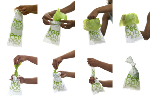 Peepoobag design observer for Easy wealth out of waste