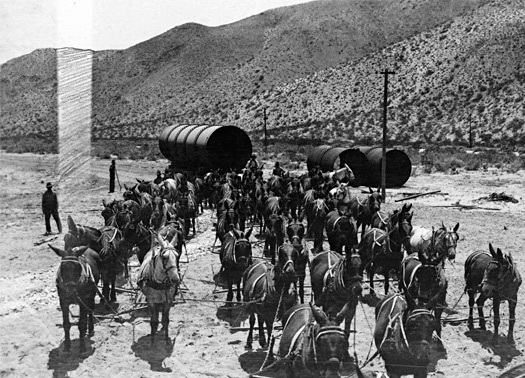 The great Los Angeles aqueduct