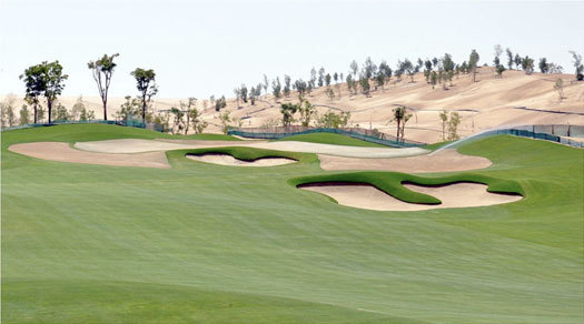 Tiger Woods Golf Course Dubai