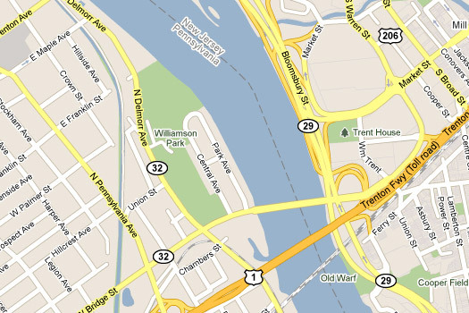 Google Maps Give Us Our River Names Design Observer - Google maps entire us