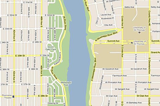 Google Maps Give Us Our River Names Design Observer - Google river maps