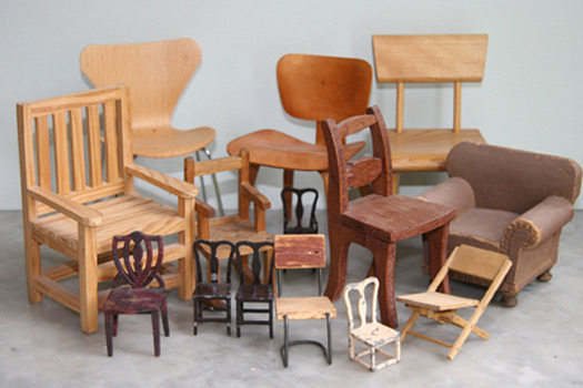 Laura Tarrish S Collection Of Miniature Chairs Slideshow Design Observer